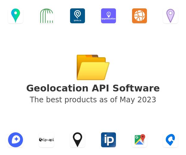 Geolocation API Software