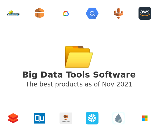 Big Data Tools Software