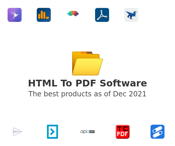 HTML To PDF Software
