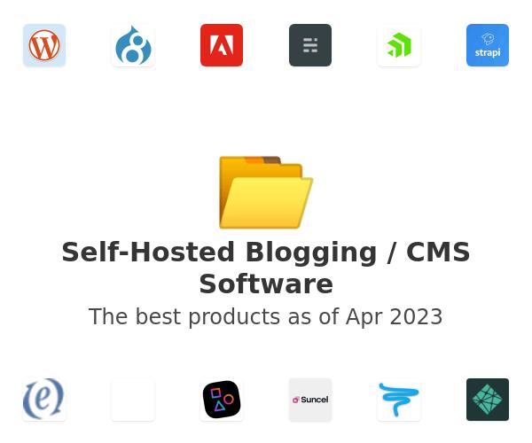 Self-Hosted Blogging / CMS Software