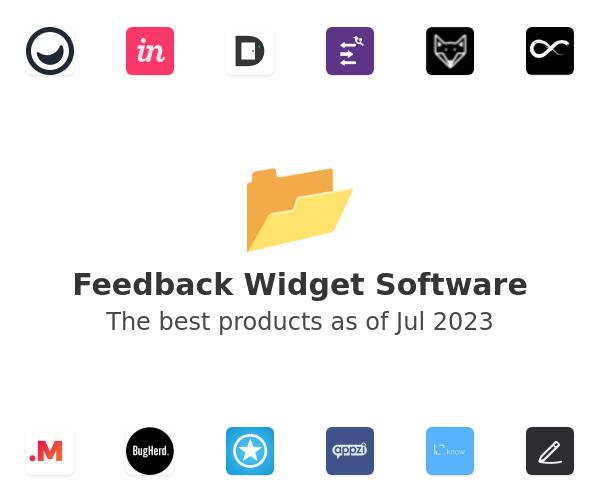 Feedback Widget Software