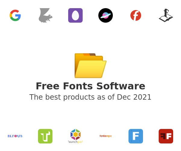 Free Fonts Software