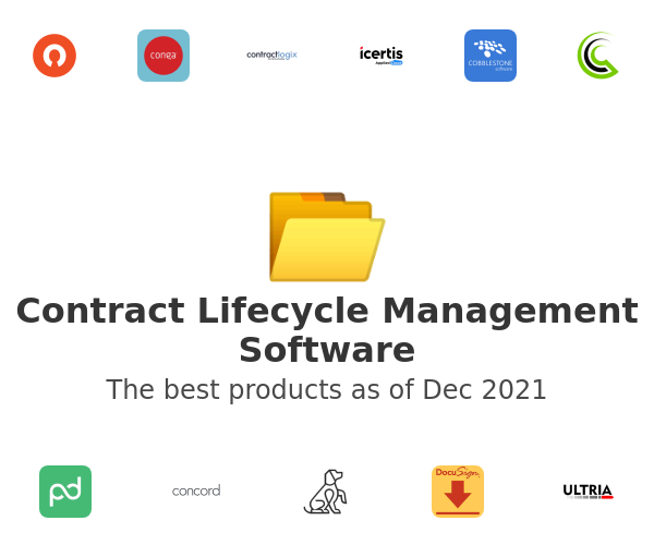 Contract Lifecycle Management Software