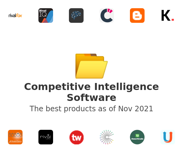 Competitive Intelligence Software