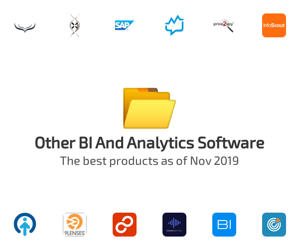 Other BI And Analytics Software
