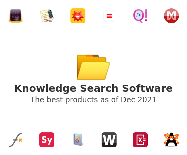 Knowledge Search Software