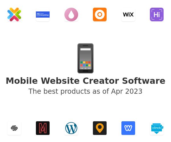 Mobile Website Creator Software