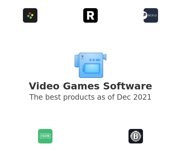 Video Games Software