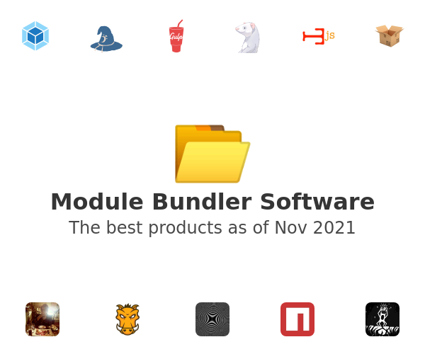 Module Bundler Software