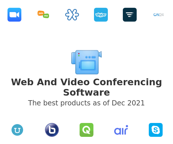 Web And Video Conferencing Software