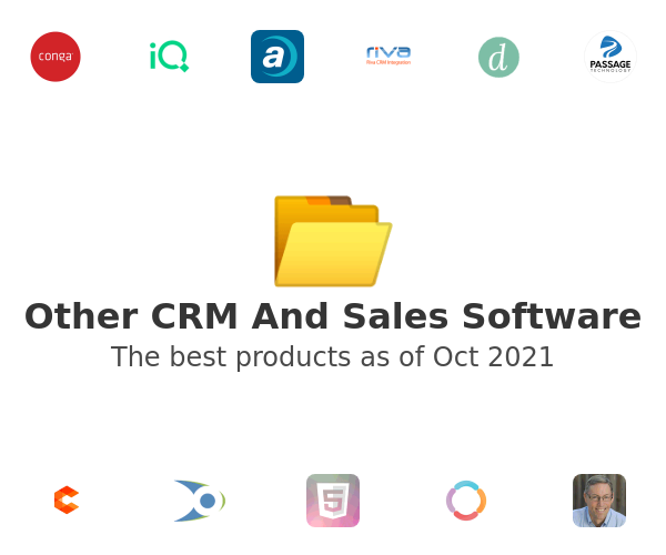 Other CRM And Sales Software