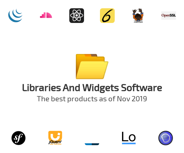 Libraries And Widgets Software