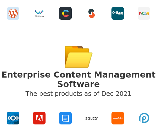 Enterprise Content Management Software
