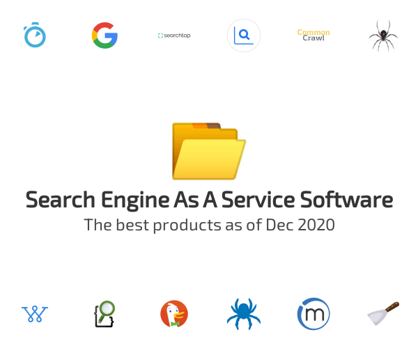 Search Engine As A Service Software