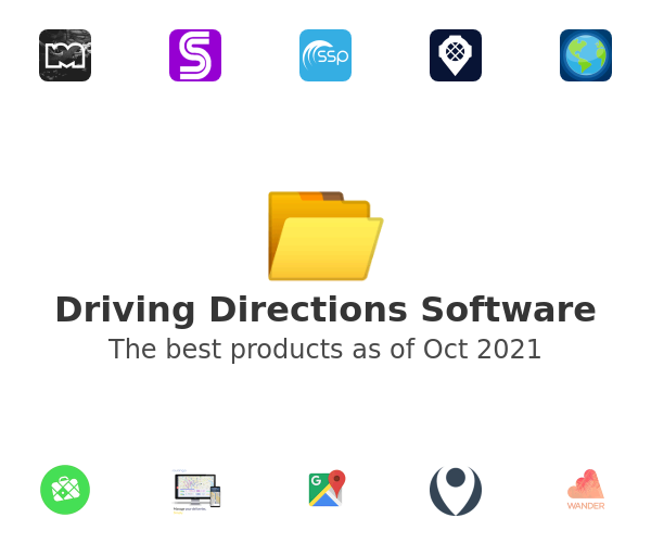 Driving Directions Software