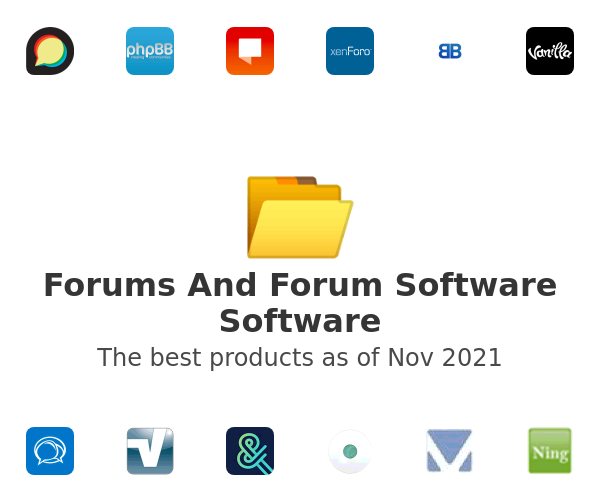 Forums And Forum Software Software