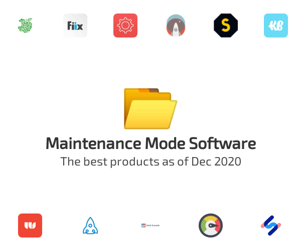 Maintenance Mode Software