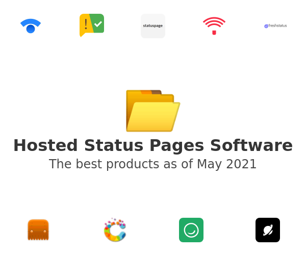 Hosted Status Pages Software