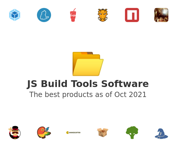 JS Build Tools Software