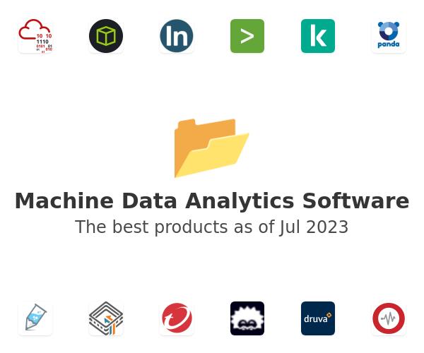 Machine Data Analytics Software