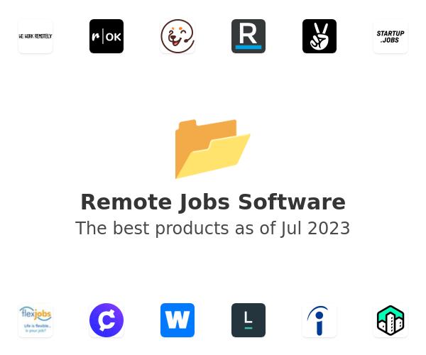 Remote Jobs Software