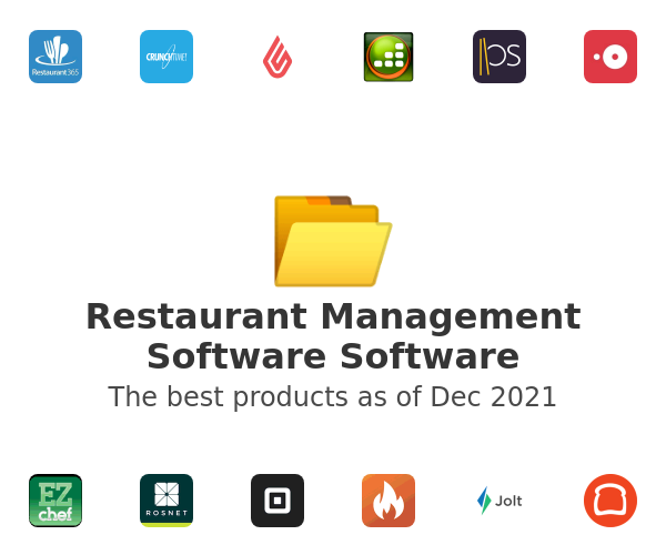 Restaurant Management Software Software
