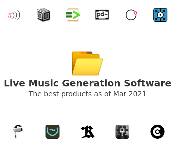 Live Music Generation Software