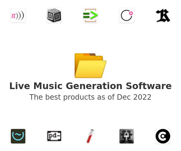 Live Music Generation Software
