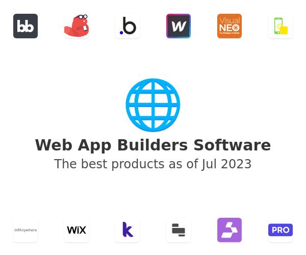 Web App Builders Software
