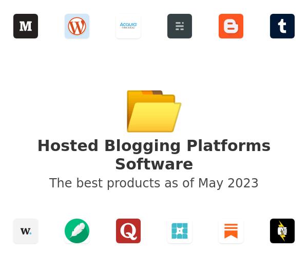 Hosted Blogging Platforms Software