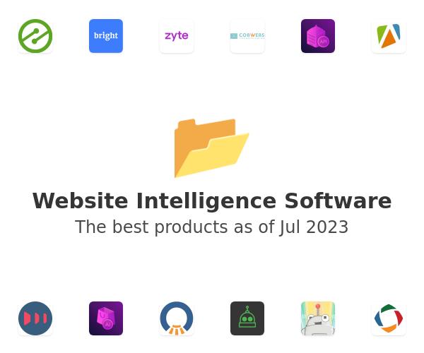 Website Intelligence Software