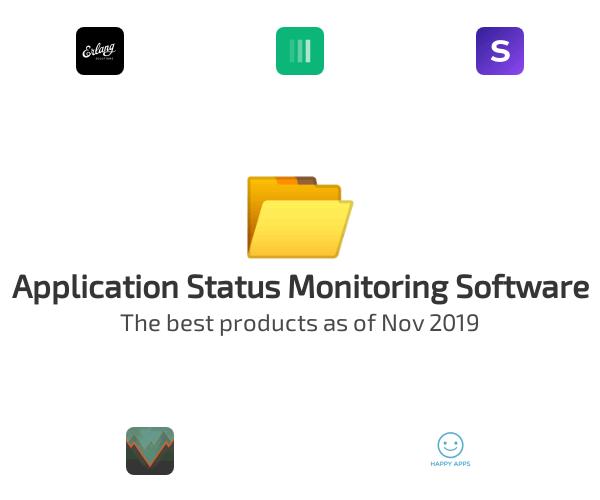 Application Status Monitoring Software