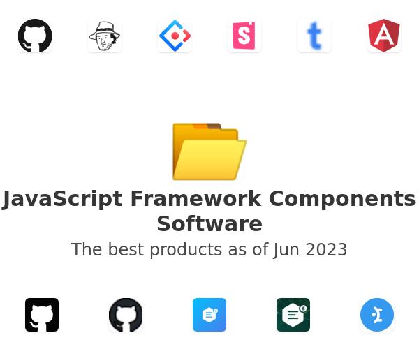 JavaScript Framework Components Software