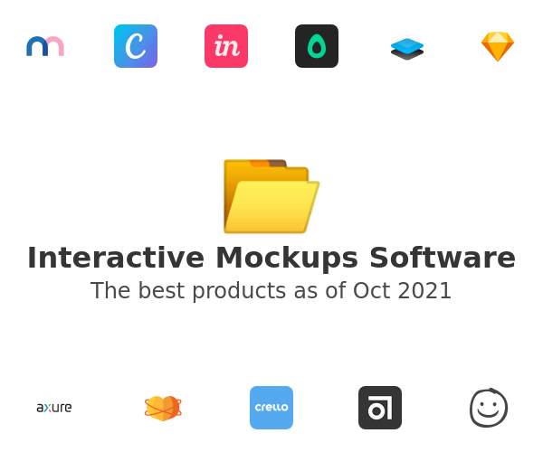 Interactive Mockups Software