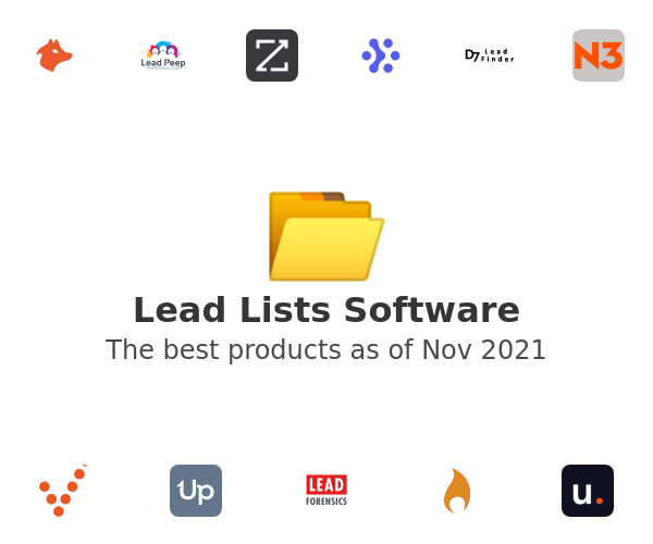 Lead Lists Software