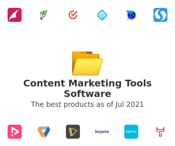 Content Marketing Tools Software