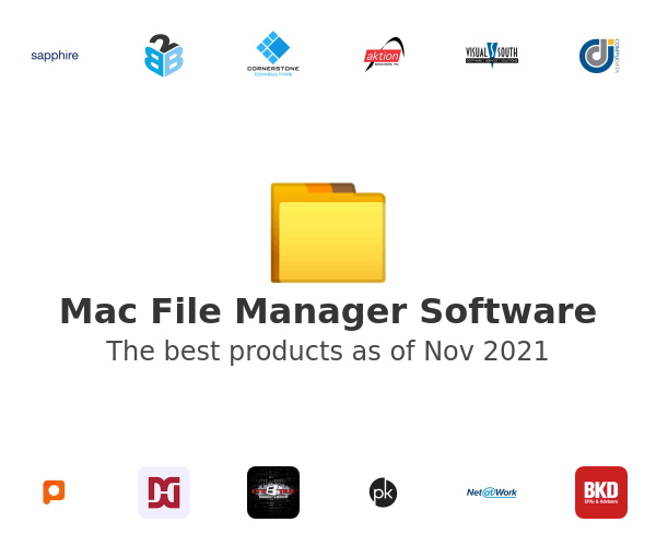 Mac File Manager Software