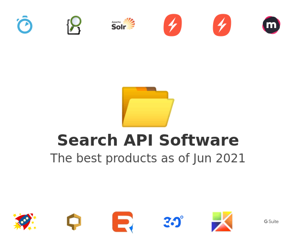 Search API Software