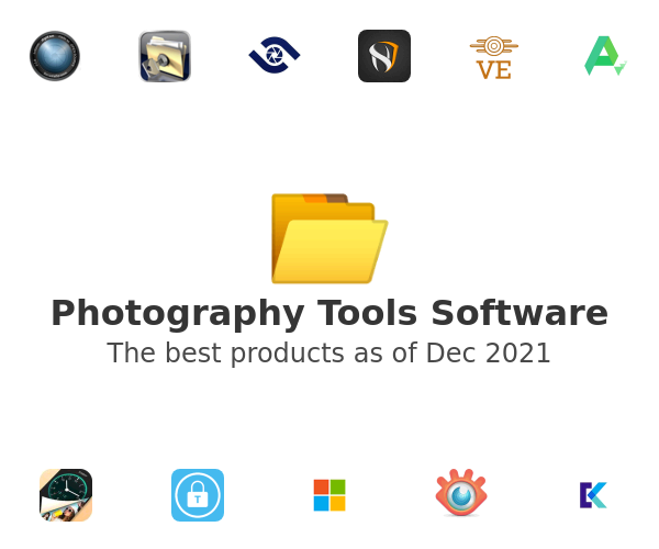 Photography Tools Software