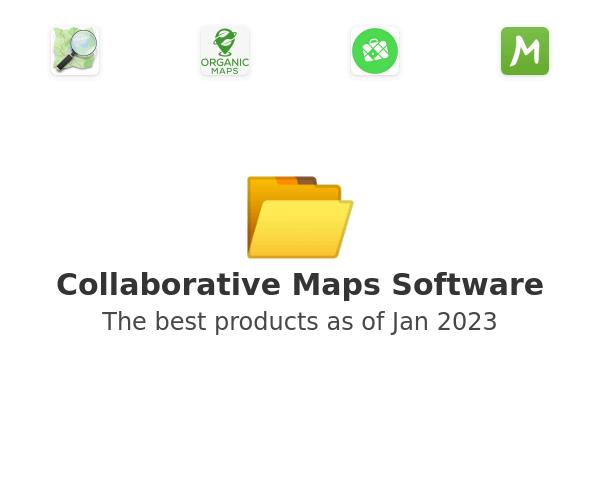 Collaborative Maps Software