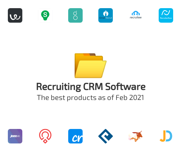 Recruiting CRM Software
