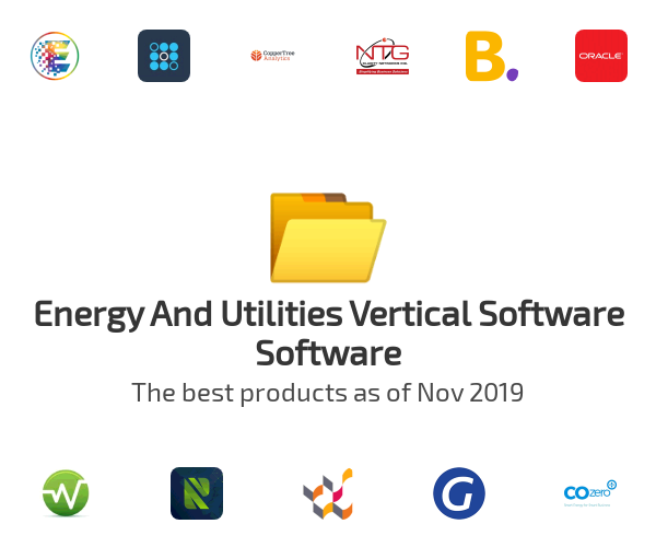 Energy And Utilities Vertical Software Software