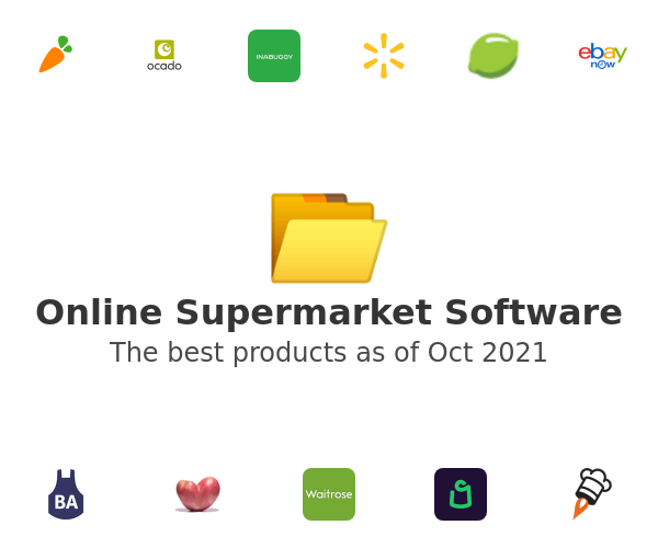 Online Supermarket Software