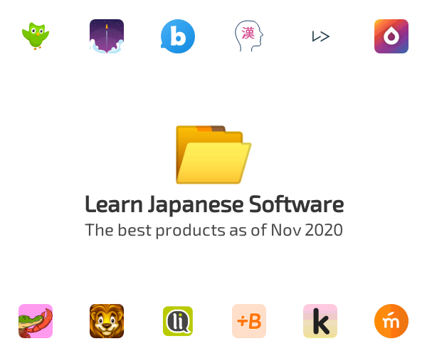 Learn Japanese Software