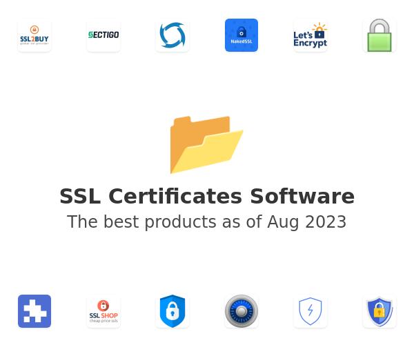 SSL Certificates Software