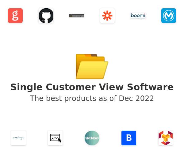 Single Customer View Software
