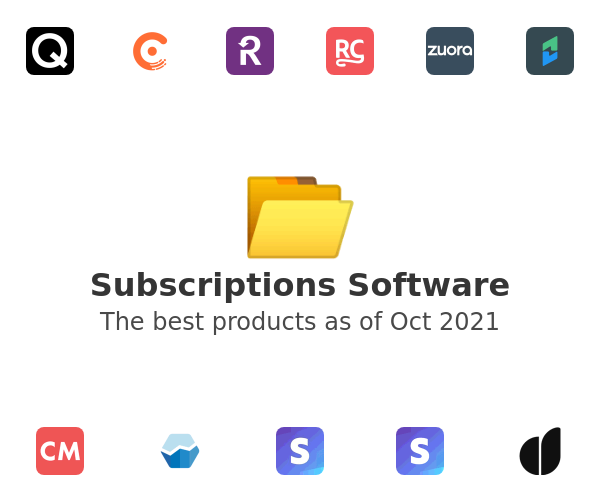 Subscriptions Software
