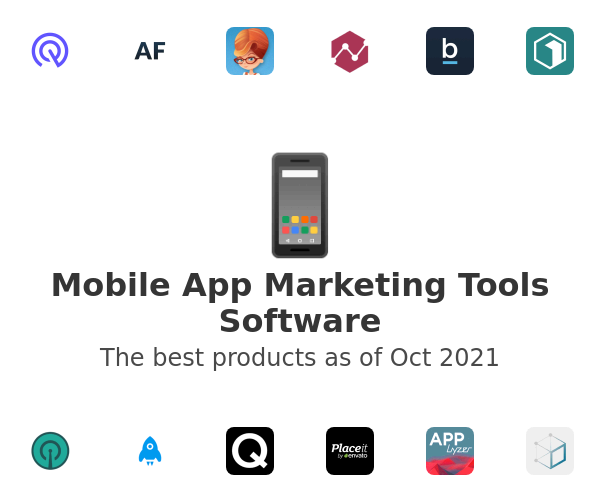 Mobile App Marketing Tools Software