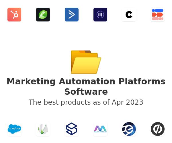 Marketing Automation Platforms Software