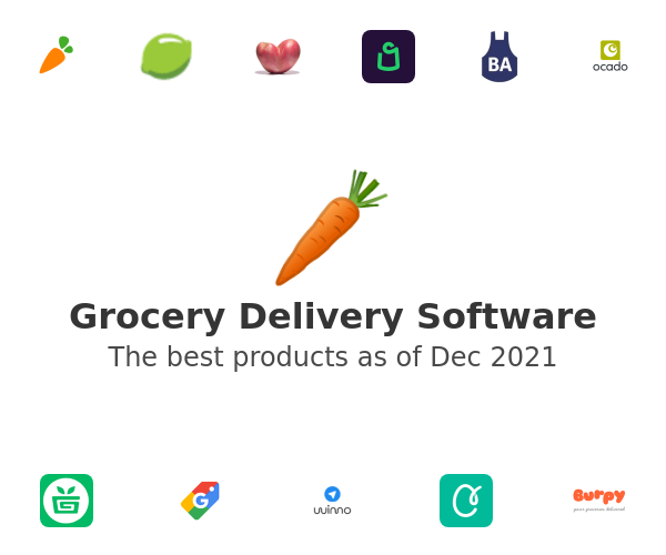 Groceries Delivery Software